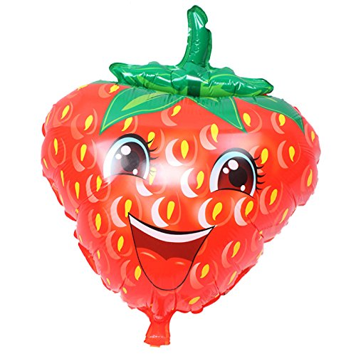 Smartrich Folie Luftballons TROPICAL Jumbo Super Form Fruit Sommer Party Geburtstag Ballon