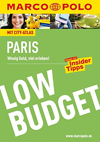 Preisvergleich Produktbild MARCO POLO Reiseführer Low Budget Paris (MARCO POLO LowBudget)