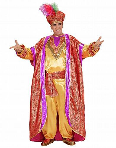 Widmann 00131 - Erwachsenenkostüm Sultan, Hemd, Hose, Gürtel, Weste, Ãœberziehschuhe und Turban, Gröߟe (Amazon Sultan Kostüm)