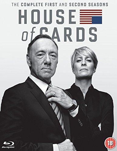House of Cards - Season 1-2 [Blu-ray] [Import] Deutscher Ton (Cecil Coles)