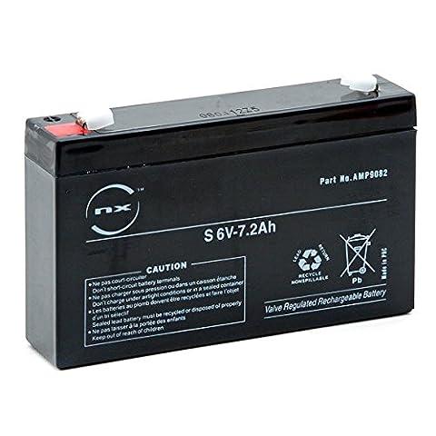 NX - Batterie plomb AGM S 6V-7.2Ah 6V 7.2Ah T1 - Batterie(s)