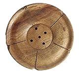 #7: Auroshikha Wooden Incense Stick Holder