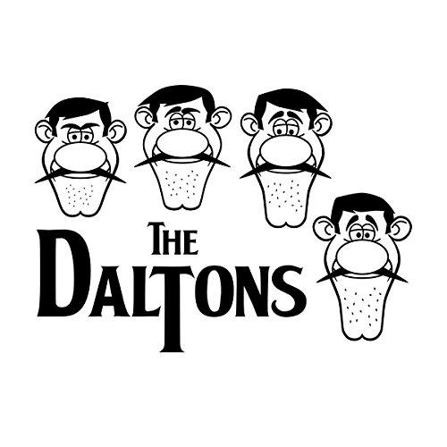The Daltons Lucky Luke Dalton Gang Men's Vest White