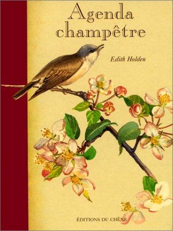 Agenda perpétuel champêtre par Edith Holden