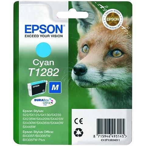 Epson C13T12824011 - Cartucho de tinta, cian