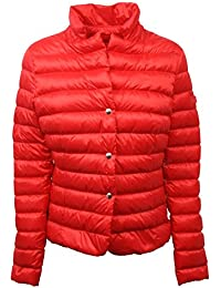 C4196 giubbotto donna PEUTEREY piumino rosso jacket woman
