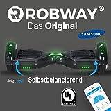 Robway W1 Smart Elektro Scooter Elektroroller Skateboard Driveboard Roller (Carbon)