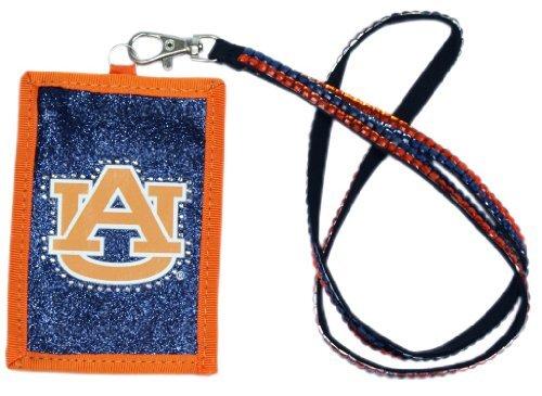 Auburn Tigers Lanyard (NCAA Perlen Lanyard mit Nylon Wallet, Auburn Tigers)
