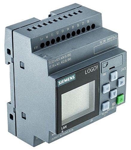 Preisvergleich Produktbild Siemens Indus.Sector LOGO!8 6ED1052-1CC01-0BA8 8DE (4AE)/4DA LOGO Logikmodul 4034106029418
