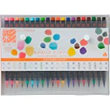 Akashiya Fude Brosse Pen Shin-mouhitsu Ink (Sa-300) 20 Color Set