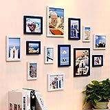 Unbekannt [Loves] pcs Schwarz Bilderrahmen Set Moderne Bilderrahmen Wand | Kombinierte Wand-Bilderrahmen | für Korridor Wohnzimmer | Satz von 13 (Farbe : Color#3)
