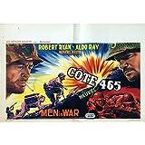 COTE 465 Affiche de film - 35x55 cm. - 1957 - Robert Ryan, Anthony Mann