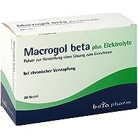 MACROGOL beta plus Elektrolyte Plv.z.H.e.L.z.Einn. 20 St preisvergleich bei billige-tabletten.eu