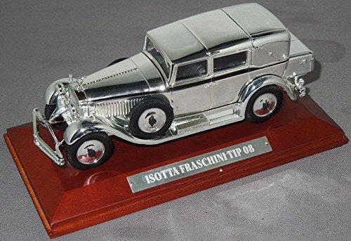 isotta-fraschini-tipo-8-silver-chrome-143-model-car-ref245