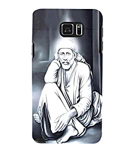 FUSON Painting Sai Baba Photo 3D Hard Polycarbonate Designer Back Case Cover for Samsung Galaxy Note 5 :: Samsung Galaxy Note 5 N920G :: Samsung Galaxy Note5 N920T N920A N920I
