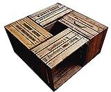 Holz Deko Kisten bedruckt & massiv