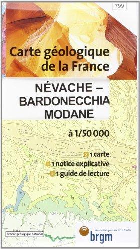 Névache-Bardonecchia-Modane : 1/50 000