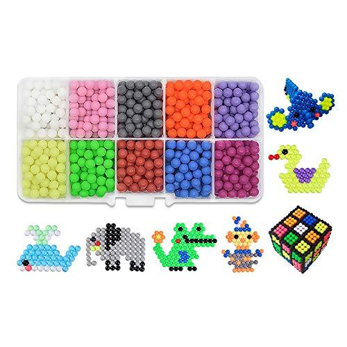 Shengyaju 24 Farben 3000 Sets von Kindern, DIY Free Hot Water Sticky Beads Puzzle Spielzeug 1 Set Muili5 -