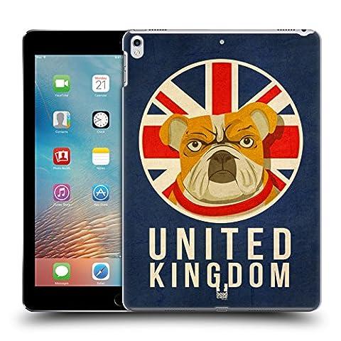 Head Case Designs Royaume-Uni Animaux Patriotiques Étui Coque D'Arrière Rigide Pour Apple iPad Pro 2 10.5 (2017)