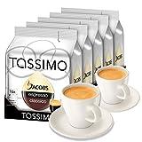 Tassimo T-Discs Jacobs Espresso, 5er Pack + 2 Original Espresso-Tassen& Untertassen von Könitz