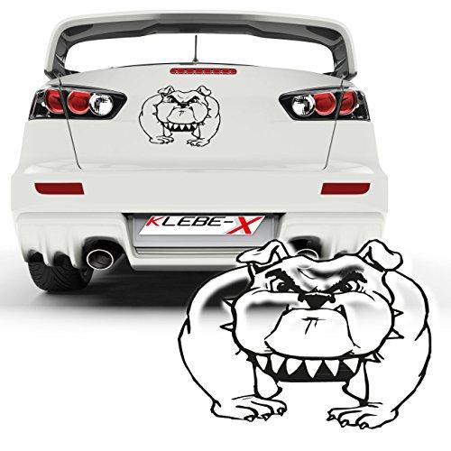 Boxer-comics (Boxer Hundeaufkleber Comic Design Dekoration Autotattoo Sticker Dog Motive Hunderassen |025V37)