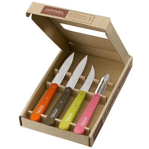 Opinel Opinel cuchillos de cocina conjunto, Set de cocina.