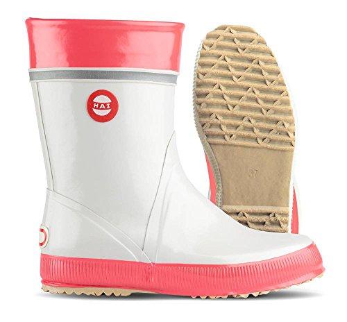 Nokian Footwear  Hai, Bottes Unisexe adulte Rouge - grey, coral