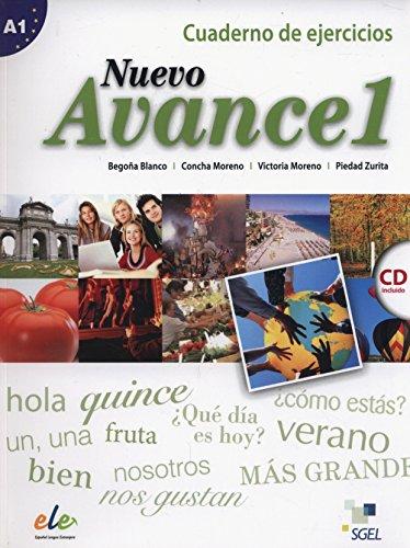 Nuevo Avance 1 Exercises Book + CD A1 par  Concha Moreno García, Victoria Moreno Rico, Piedad Zurita Sáenz de Navarrete