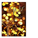 DigitalOase Glückwunschkarte 65. Geburtstag Geburtstagskarte Grußkarte Format DIN A4 A3 Klappkarte PanoramaUmschlag #WGRATG