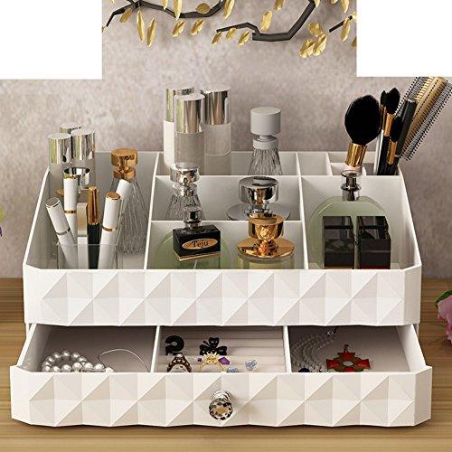 Home desktop contenitori per cosmetici/ trucco cassetto Kit/Rack/ grande portagioie-A