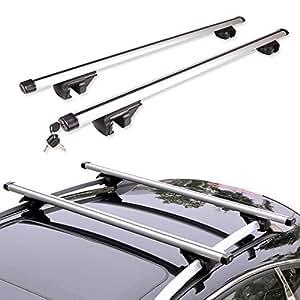 multiware barres de toit voiture universel porte bagage 52. Black Bedroom Furniture Sets. Home Design Ideas