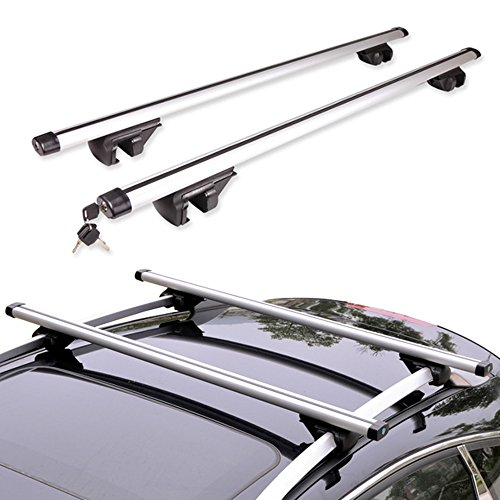 MultiWare Car Roof Bars Universal Roof Bars for Cars 52""