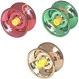 Fine Quality High Speed Metal YoYo - Set Of 3 Toy Yoyo