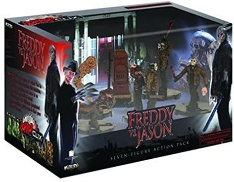Wizkids - HorrorClix - - - Freddy Vs Jason Action Pack | New Style,En Ligne  581b9b