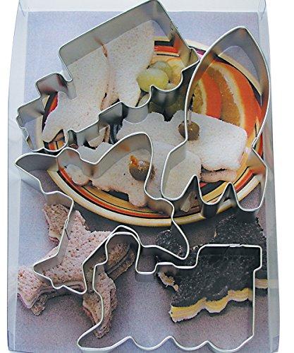 Transport Sandwich Cutter Set Tin-Plated - Cutter Tin Set