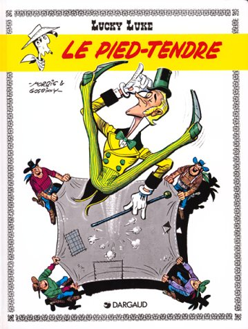 Lucky Luke, tome 2 : Le Pied tendre