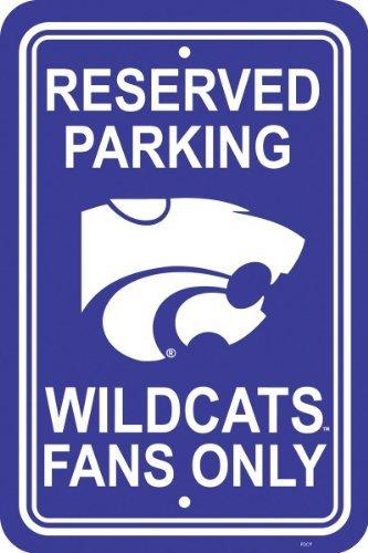 Fremont Die NCAA Kansas State Wildcats 12-by-18Zoll Kunststoff Parken Schild