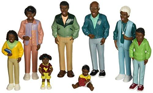 Marvel Bildung CO mtc-125Marvel Bildung African American Family Puppe Set