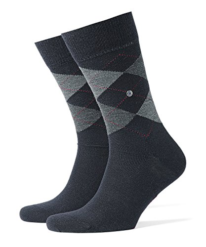 Falke Org 156 WO SO 21182 Herren Socken, Gr. 40, Blau (dark navy 6377 )