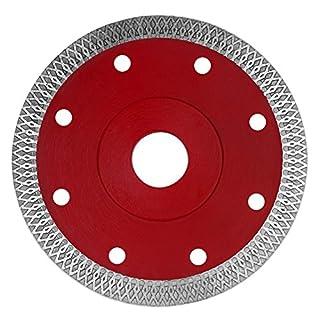 KSS 100mm Premium Trennscheibe - Extra Dünne Diamant Trennscheibe - Sägeblatt Fliese Feinsteinzeug - Segmenthöhe 10mm (4