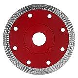 KSS 125mm Premium Trennscheibe - Extra Dünne Diamant Trennscheibe - Sägeblatt Fliese Feinsteinzeug - Segmenthöhe 10mm (5