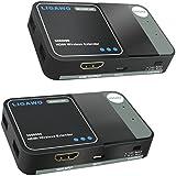 Ligawo 3080090 HDMI Wireless Extender bis zu 30m ( FullHD, 1080p, 3D, CEC, 60Ghz Übertragung )