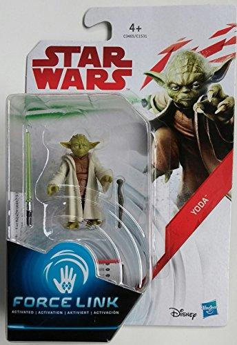 Hasbro - Star Wars Force Link Action Figura Yoda (Hasbro)