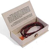 Mala Beads   Buddhist Mallah bead Rosary Beads   Om mani padme hum by Hippy Shack