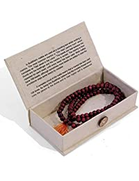 Mala Beads | Buddhist Mallah bead Rosary Beads | Om mani padme hum by Hippy Shack