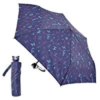 Ladies Compact Dog or Cat Design Umbrella