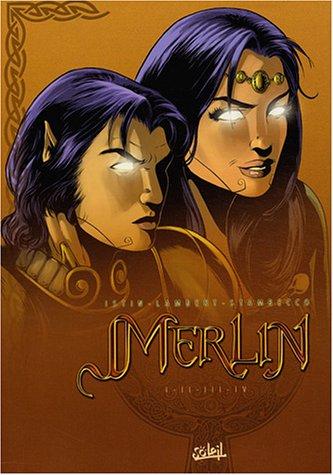 Coffret Merlin, tome 1 à tome 4