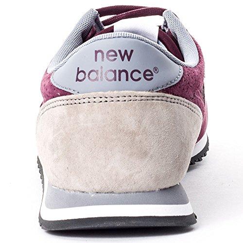 New Balance U420PPB Herren Trainers Dunkel Rot