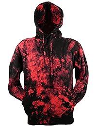 Tie Dye Red Scrunch Batik Hoodie Hood 701824 Hood