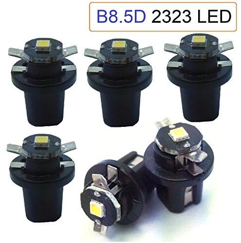 Preisvergleich Produktbild X6 X BAX10d T5 B8.5D LED 2323 weiß 6000 K. Armaturenbrett,  Indikator,  cuentakilometros,  PKW,  Motorräder.